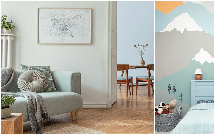 2021 color trends, Rodda Paint, Simple Serenity