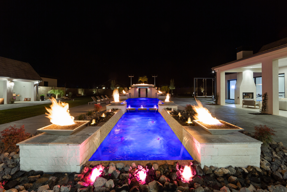 St. George Area Parade of Homes, RL Wyman Design + Create, Creative Dimensions, Outdoor pool