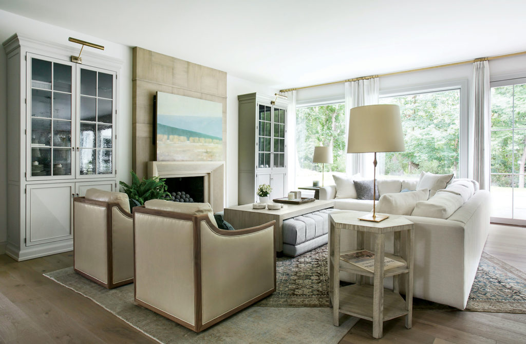 Open living room in this holladay forever home.