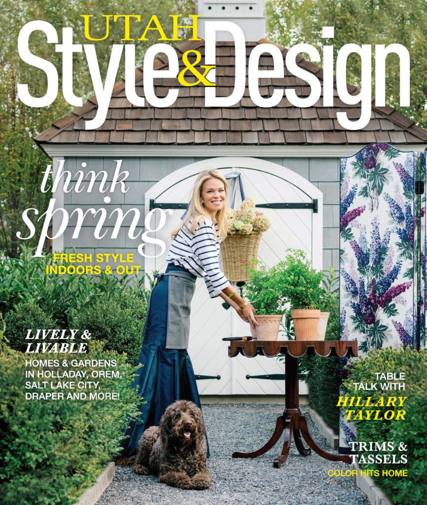 Utah Style & Design Spring  2021 cover by Heather Nan